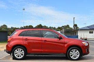 2013 Mitsubishi ASX XB MY13 Aspire Red 6 Speed Sports Automatic Wagon.