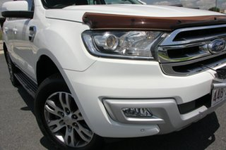 2015 Ford Everest UA Trend White 6 Speed Automatic Wagon.