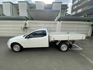 2012 Ford Falcon FG MkII Super Cab White 6 Speed Sports Automatic Cab Chassis