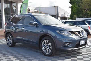 2014 Nissan X-Trail T32 Ti X-tronic 4WD Blue 7 Speed Constant Variable Wagon.