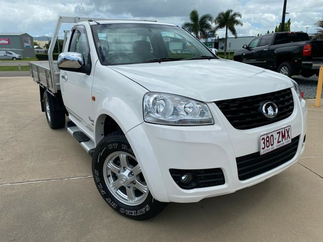 Used Great Wall V240 K2 MY12 4x2, 2012 Great Wall V240 K2 MY12 4x2 White 5 Speed Manual Cab Chassis