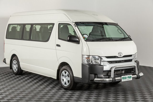 Used Toyota HiAce KDH223R Commuter High Roof Super LWB, 2017 Toyota HiAce KDH223R Commuter High Roof Super LWB French Vanilla 4 speed Automatic Bus