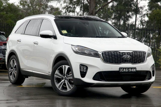 Demo Kia Sorento UM MY19 GT-Line AWD, 2019 Kia Sorento UM MY19 GT-Line AWD 8 Speed Sports Automatic Wagon