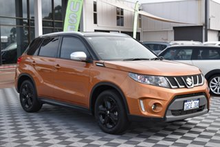 2016 Suzuki Vitara LY S Turbo 2WD Orange 6 Speed Sports Automatic Wagon.