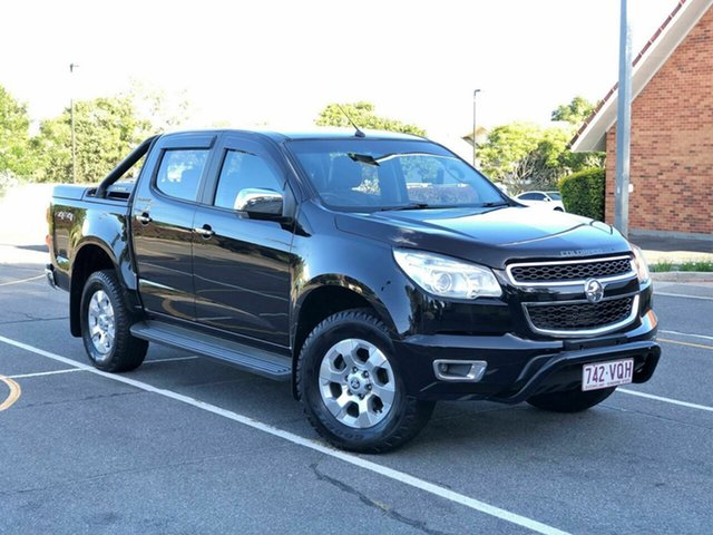 Used Holden Colorado RG MY15 Storm Crew Cab, 2015 Holden Colorado RG MY15 Storm Crew Cab Black 6 Speed Sports Automatic Utility