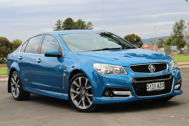 Used Holden Commodore VF MY14 SS V, 2014 Holden Commodore VF MY14 SS V Blue 6 Speed Sports Automatic Sedan