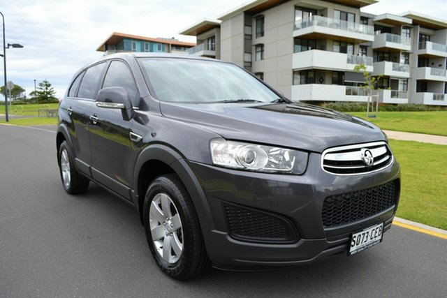 Used Holden Captiva CG MY14 7 LS, 2014 Holden Captiva CG MY14 7 LS Grey 6 Speed Sports Automatic Wagon