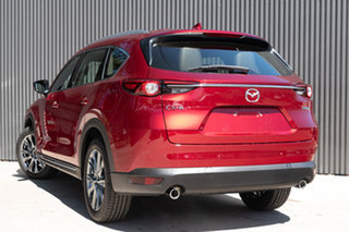 2020 Mazda CX-8 KG2W2A Asaki SKYACTIV-Drive FWD Soul Red Crystal 6 Speed Sports Automatic Wagon