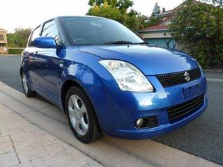 2005 Suzuki Swift EZ Blue 5 Speed Manual Hatchback.
