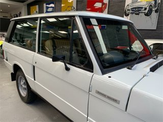 1979 Land Rover Range Rover White 4 Speed Manual Wagon