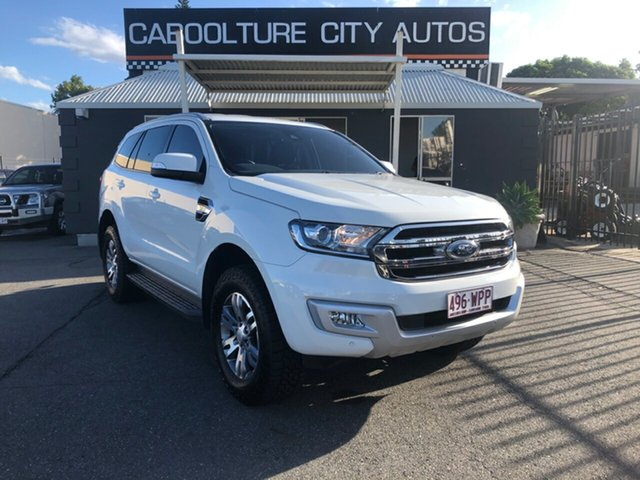 Used Ford Everest UA Trend, 2016 Ford Everest UA Trend White 6 Speed Automatic Wagon