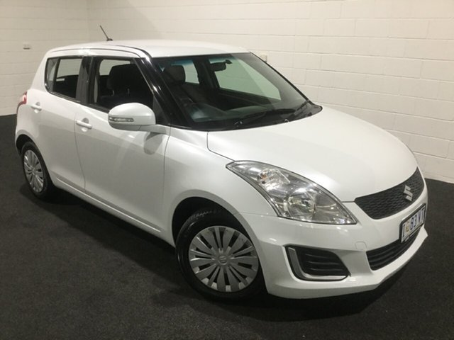 Used Suzuki Swift FZ MY15 GL, 2015 Suzuki Swift FZ MY15 GL White 4 Speed Automatic Hatchback
