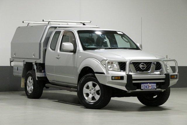 Used Nissan Navara D40 ST-X (4x4), 2009 Nissan Navara D40 ST-X (4x4) Silver 5 Speed Automatic Dual Cab Pick-up