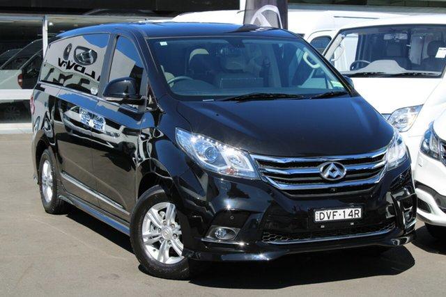 Used LDV G10 SV7A Executive, 2018 LDV G10 SV7A Executive Black 6 Speed Sports Automatic Wagon