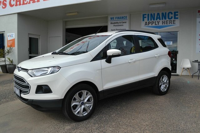 Used Ford Ecosport BK Trend, 2016 Ford Ecosport BK Trend White 6 Speed Automatic Wagon