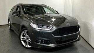 2018 Ford Mondeo MD 2018.25MY Titanium PwrShift Grey 6 Speed Sports Automatic Dual Clutch Wagon.