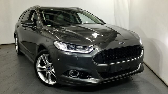 Used Ford Mondeo MD 2018.25MY Titanium PwrShift, 2018 Ford Mondeo MD 2018.25MY Titanium PwrShift Grey 6 Speed Sports Automatic Dual Clutch Wagon