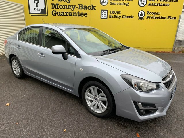 Used Subaru Impreza G4 MY16 2.0i Lineartronic AWD, 2016 Subaru Impreza G4 MY16 2.0i Lineartronic AWD Silver 6 Speed Constant Variable Sedan