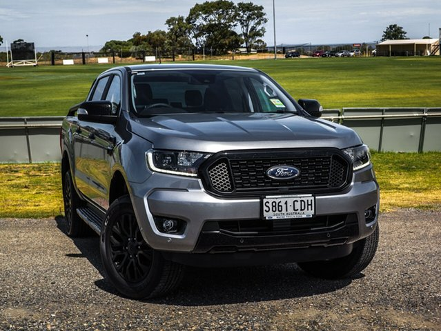 Demo Ford Ranger PX MkIII 2020.25MY FX4 Pick-up Double Cab, 2019 Ford Ranger PX MkIII 2020.25MY FX4 Pick-up Double Cab Aluminium 6 Speed Sports Automatic