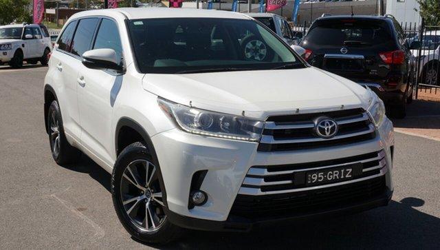 Used Toyota Kluger GSU50R GX 2WD, 2017 Toyota Kluger GSU50R GX 2WD White 8 Speed Sports Automatic Wagon