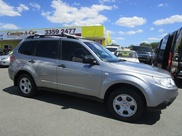 Used Subaru Forester S3 MY11 X AWD, 2011 Subaru Forester S3 MY11 X AWD Silver 4 Speed Sports Automatic Wagon