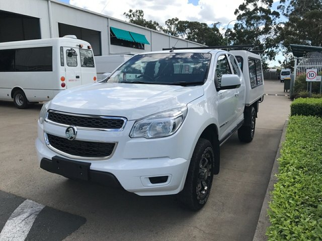 Used Holden Colorado RG MY16 LS Space Cab, 2016 Holden Colorado RG MY16 LS Space Cab White 6 speed Automatic Cab Chassis