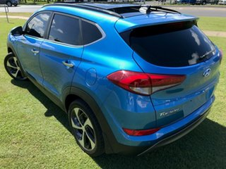 2015 Hyundai Tucson TLE Highlander D-CT AWD Blue 7 Speed Sports Automatic Dual Clutch Wagon