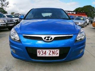 2010 Hyundai i30 SX CRDi FD MY09 Blue 4 Speed Automatic Hatchback.