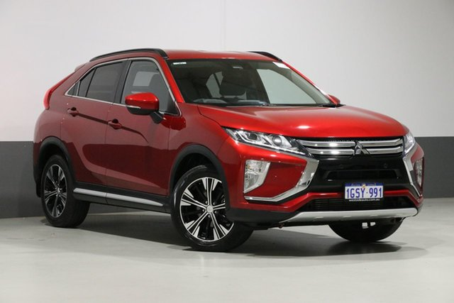 Used Mitsubishi Eclipse Cross YA MY18 LS (2WD), 2019 Mitsubishi Eclipse Cross YA MY18 LS (2WD) Red Continuous Variable Wagon