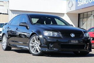 2011 Holden Commodore VE II MY12 SV6 Black 6 Speed Sports Automatic Sedan.