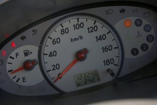 2009 Nissan Micra K12 Mauve 4 Speed Automatic Hatchback