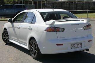 2017 Mitsubishi Lancer CF MY17 ES Sport White 6 Speed Constant Variable Sedan.