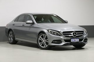 2015 Mercedes-Benz C200 205 Silver 7 Speed Automatic Sedan.