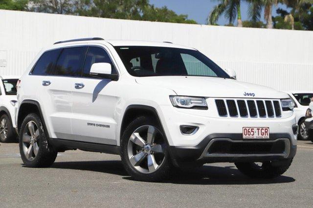 Used Jeep Grand Cherokee WK MY2013 Limited, 2013 Jeep Grand Cherokee WK MY2013 Limited White 5 Speed Sports Automatic Wagon