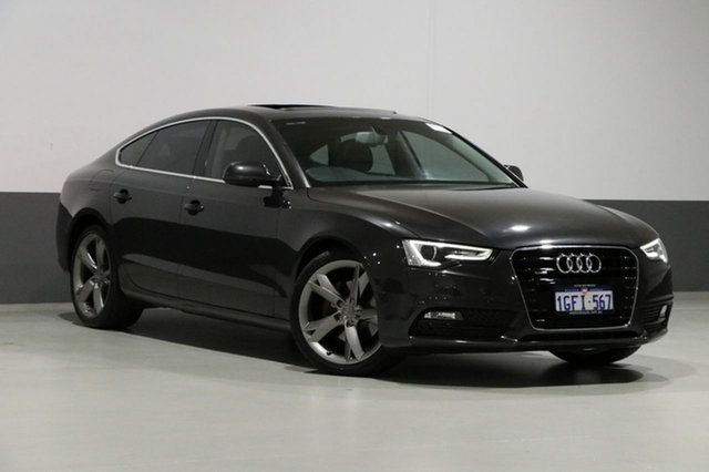 Used Audi A5 8T MY13 Sportback 2.0 TFSI Quattro, 2013 Audi A5 8T MY13 Sportback 2.0 TFSI Quattro Grey 7 Speed Auto Direct Shift Hatchback
