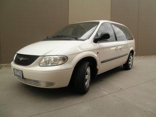 2002 Chrysler Voyager RG 4th Gen SE White & Black 4 Speed Automatic Wagon.