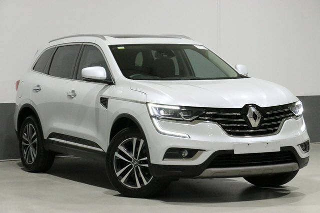 Used Renault Koleos XZG Intens X-Tronic (4x4), 2016 Renault Koleos XZG Intens X-Tronic (4x4) White Continuous Variable Wagon