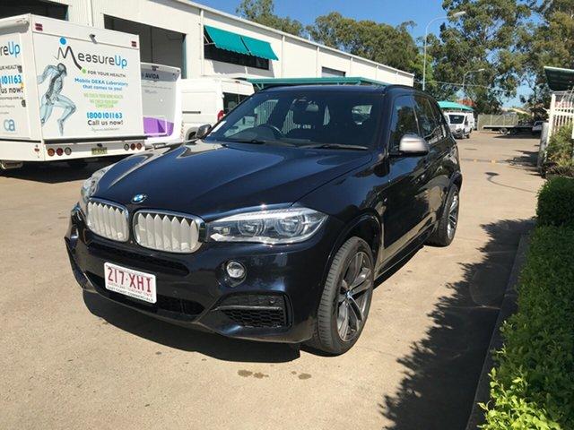 Used BMW X5 F15 M50D, 2014 BMW X5 F15 M50D Imperial Blue 8 speed Automatic Wagon