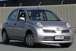 2009 Nissan Micra K12 Mauve 4 Speed Automatic Hatchback.
