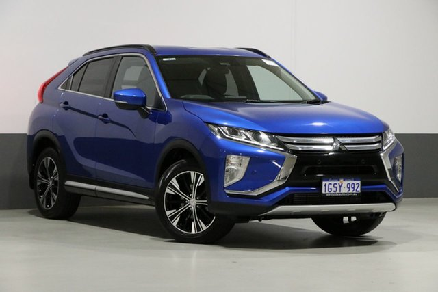 Used Mitsubishi Eclipse Cross YA MY18 LS (2WD), 2019 Mitsubishi Eclipse Cross YA MY18 LS (2WD) Blue Continuous Variable Wagon