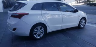 2015 Hyundai i30 GD Tourer Active 1.6 CRDi White 6 Speed Automatic Wagon