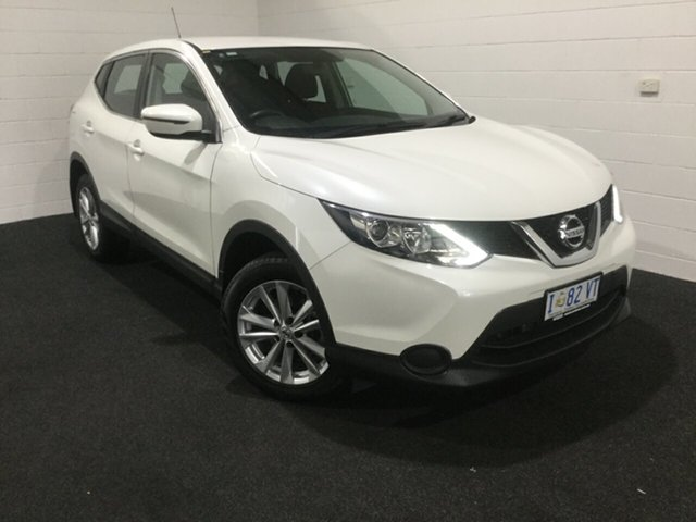 Used Nissan Qashqai J11 ST, 2016 Nissan Qashqai J11 ST White 1 Speed Constant Variable Wagon