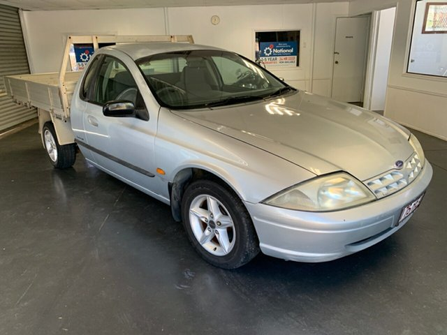 Used Ford Falcon AUII XL, 2001 Ford Falcon AUII XL Silver 4 Speed Automatic Cab Chassis