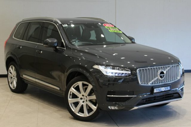 Used Volvo XC90 L Series MY19 D5 Geartronic AWD Inscription Phillip, 2018 Volvo XC90 L Series MY19 D5 Geartronic AWD Inscription Savile Grey 8 Speed Sports Automatic