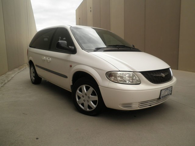 Used Chrysler Voyager RG 4th Gen SE, 2002 Chrysler Voyager RG 4th Gen SE White & Black 4 Speed Automatic Wagon