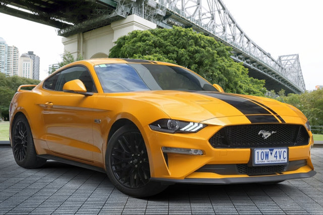 Used Ford Mustang FN 2018MY GT Fastback, 2018 Ford Mustang FN 2018MY GT Fastback Orange Fury 6 Speed Manual Fastback
