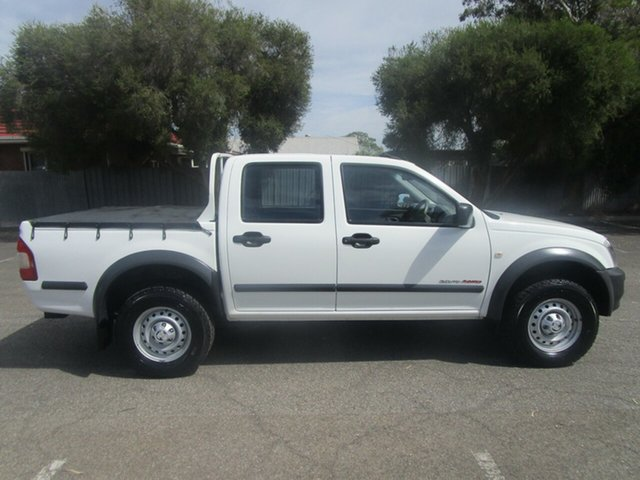 Used Holden Rodeo RA MY05.5 Upgrade LX (4x4), 2005 Holden Rodeo RA MY05.5 Upgrade LX (4x4) 5 Speed Manual Crew Cab Pickup