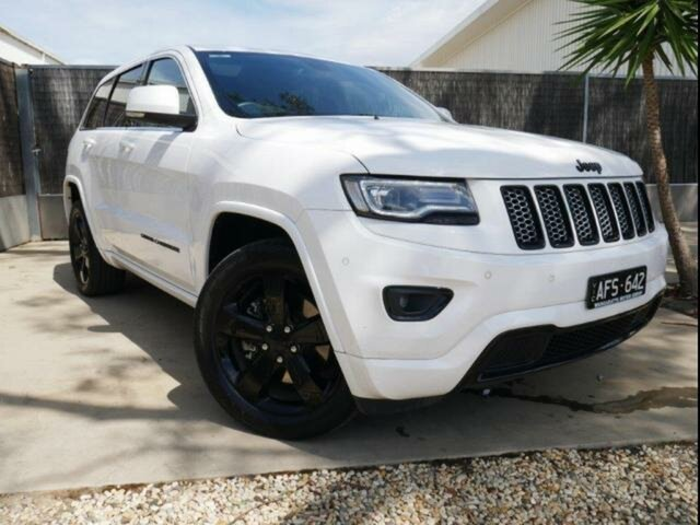 Used Jeep Grand Cherokee WK MY15 Blackhawk (4x4), 2016 Jeep Grand Cherokee WK MY15 Blackhawk (4x4) 8 Speed Automatic Wagon