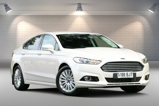 Used Ford Mondeo MD Trend SelectShift, 2015 Ford Mondeo MD Trend SelectShift White 6 Speed Sports Automatic Hatchback