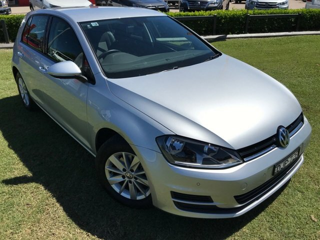 Used Volkswagen Golf VII MY16 92TSI DSG Trendline, 2015 Volkswagen Golf VII MY16 92TSI DSG Trendline Silver 7 Speed Sports Automatic Dual Clutch